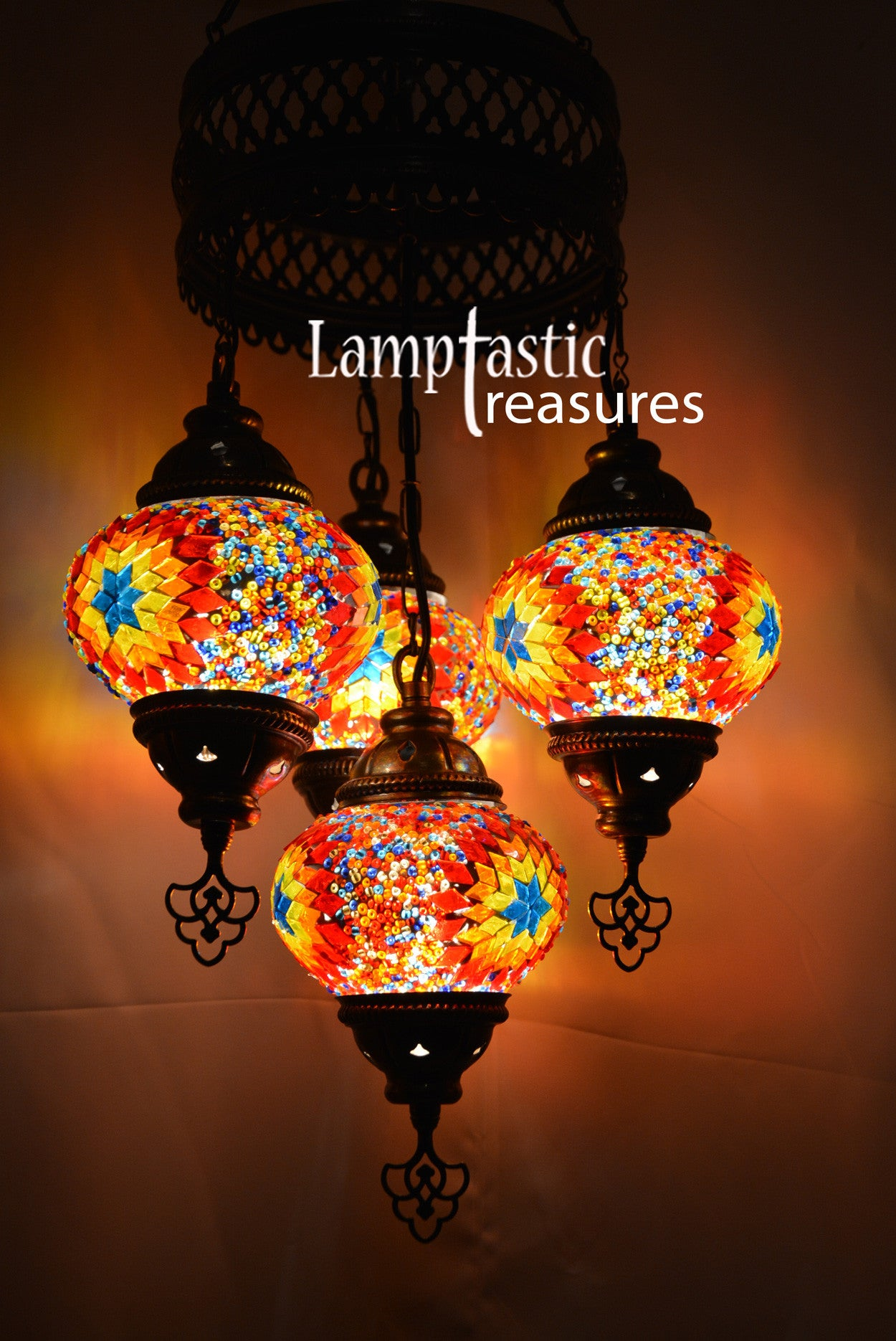 Turkish Chandelier Lamp – Lamptastic
