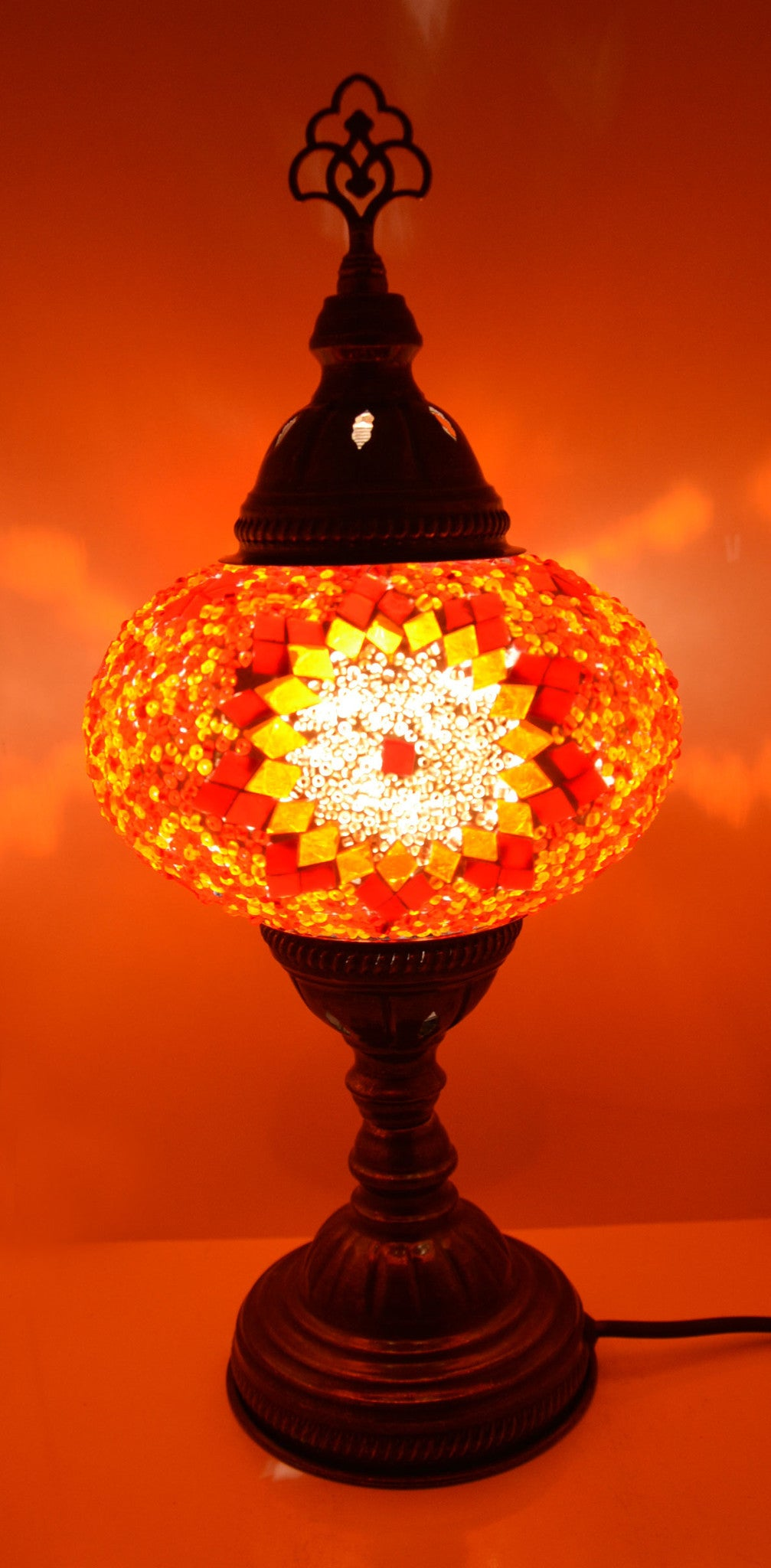 Turkish mosaic table lamp lamptastic mozeypictures Image collections