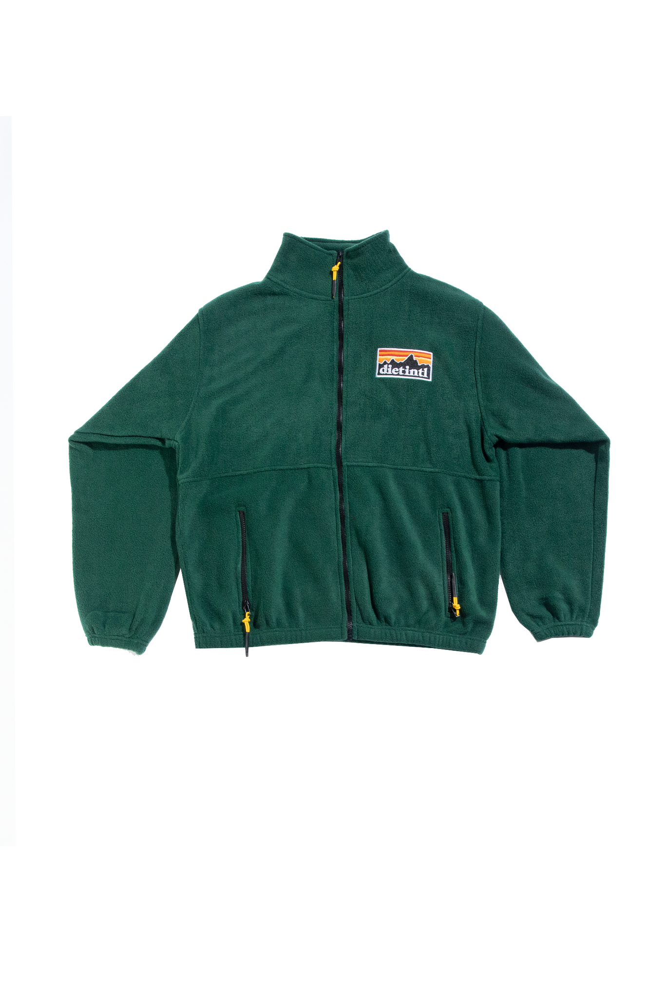 Fleece Full Zip (Green)
