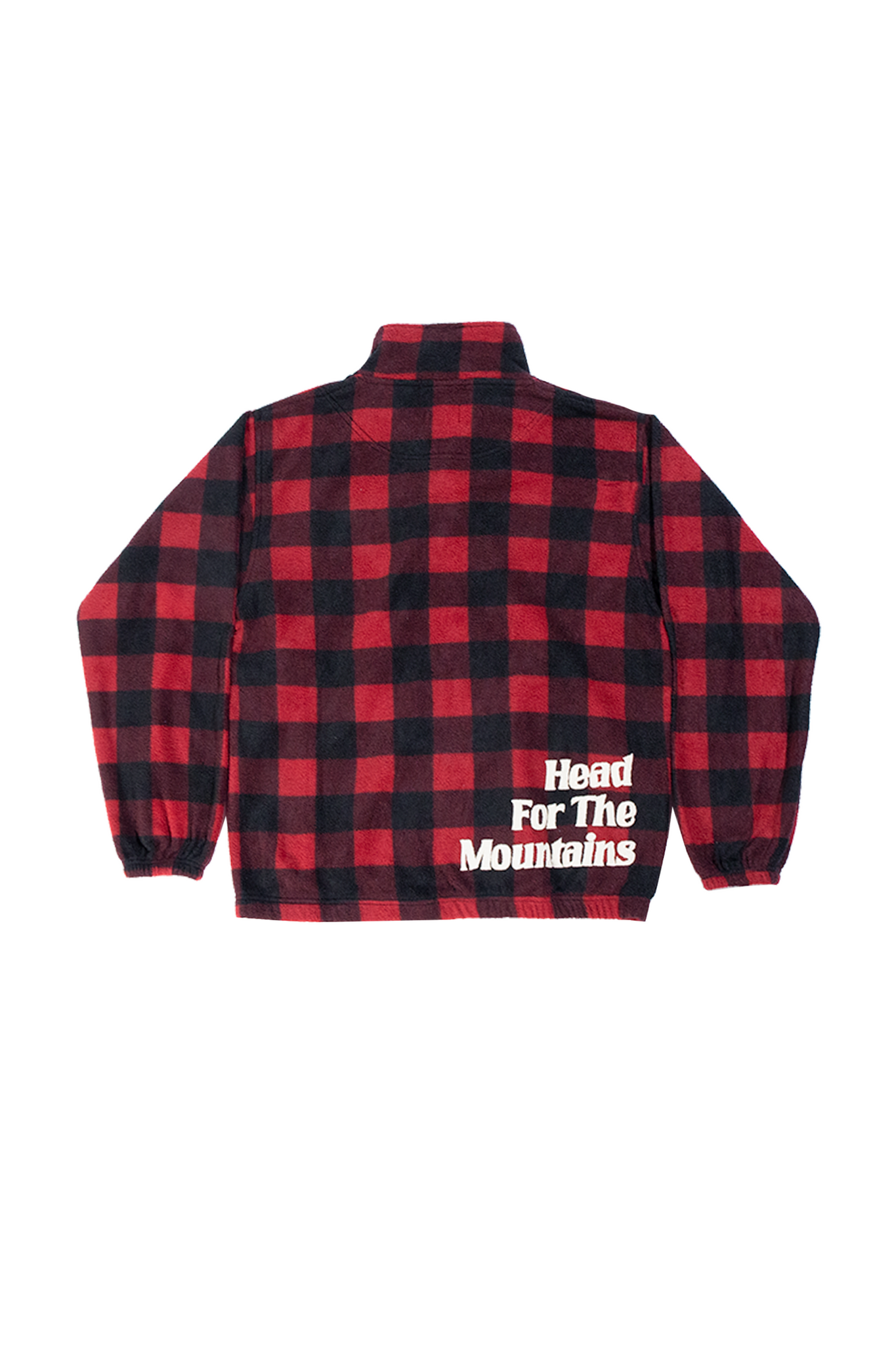 Fleece Full Zip (Red/Black)