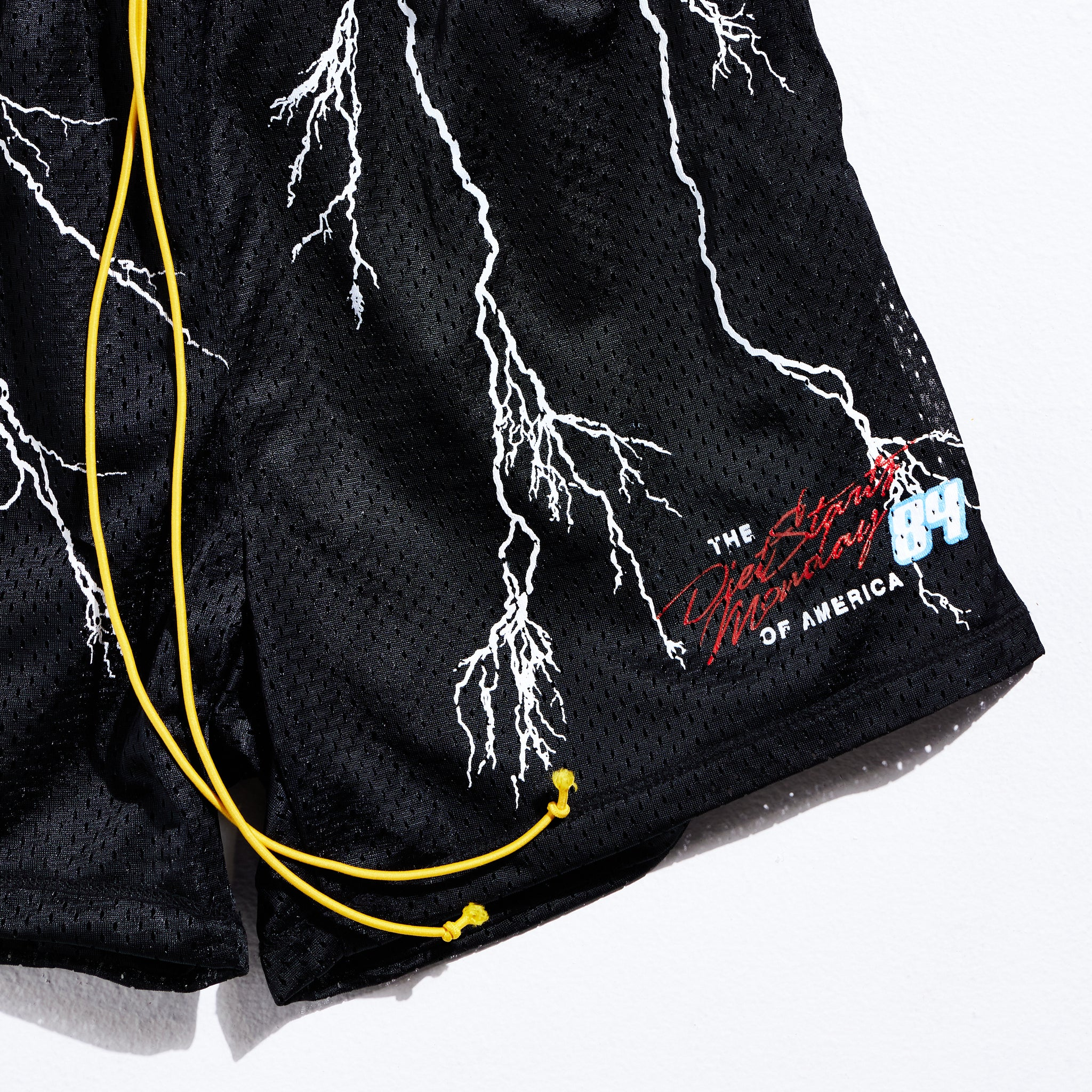 Lightning 84 Shorts - Black