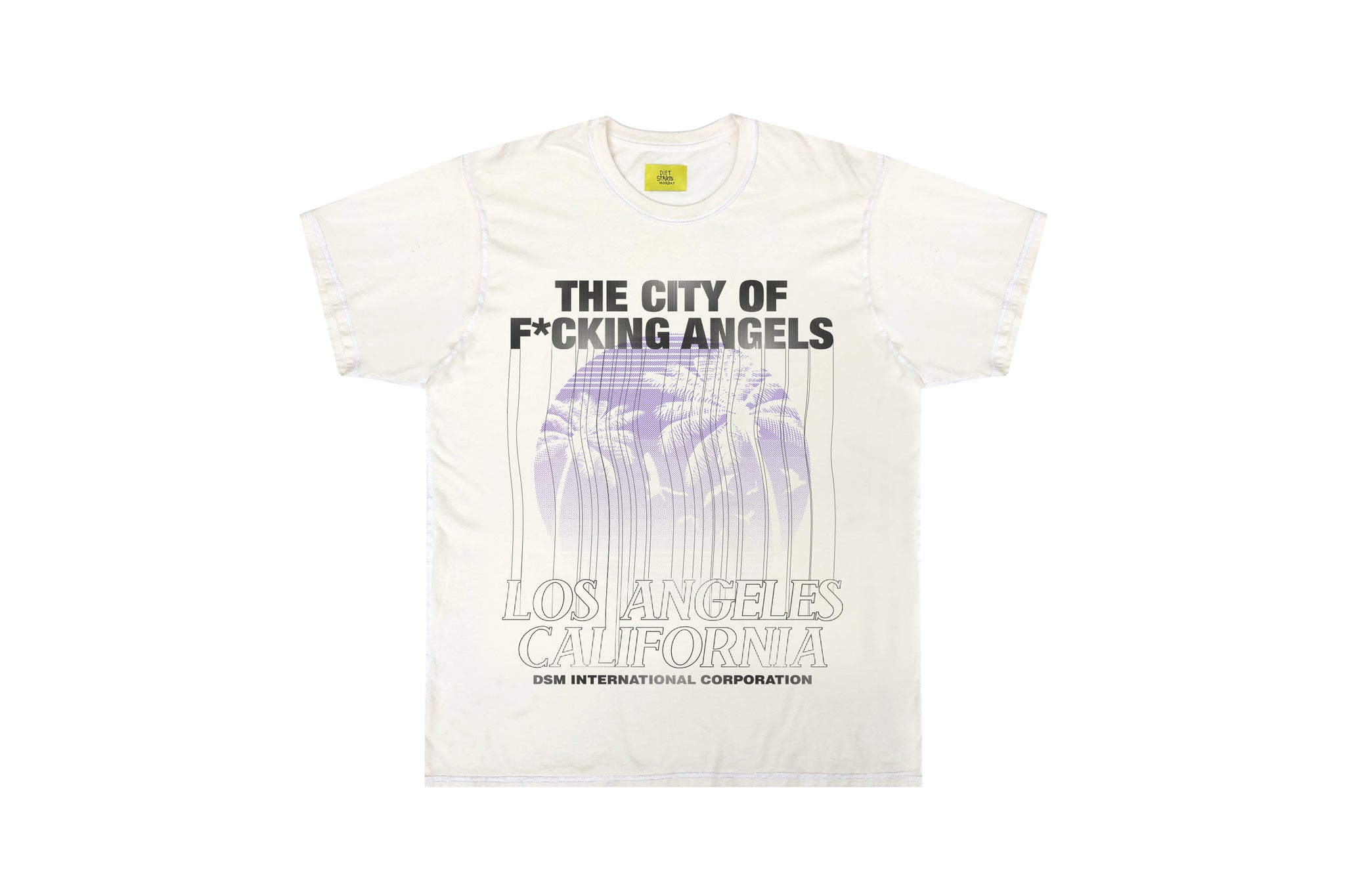 City of Angels Tee - Antique White