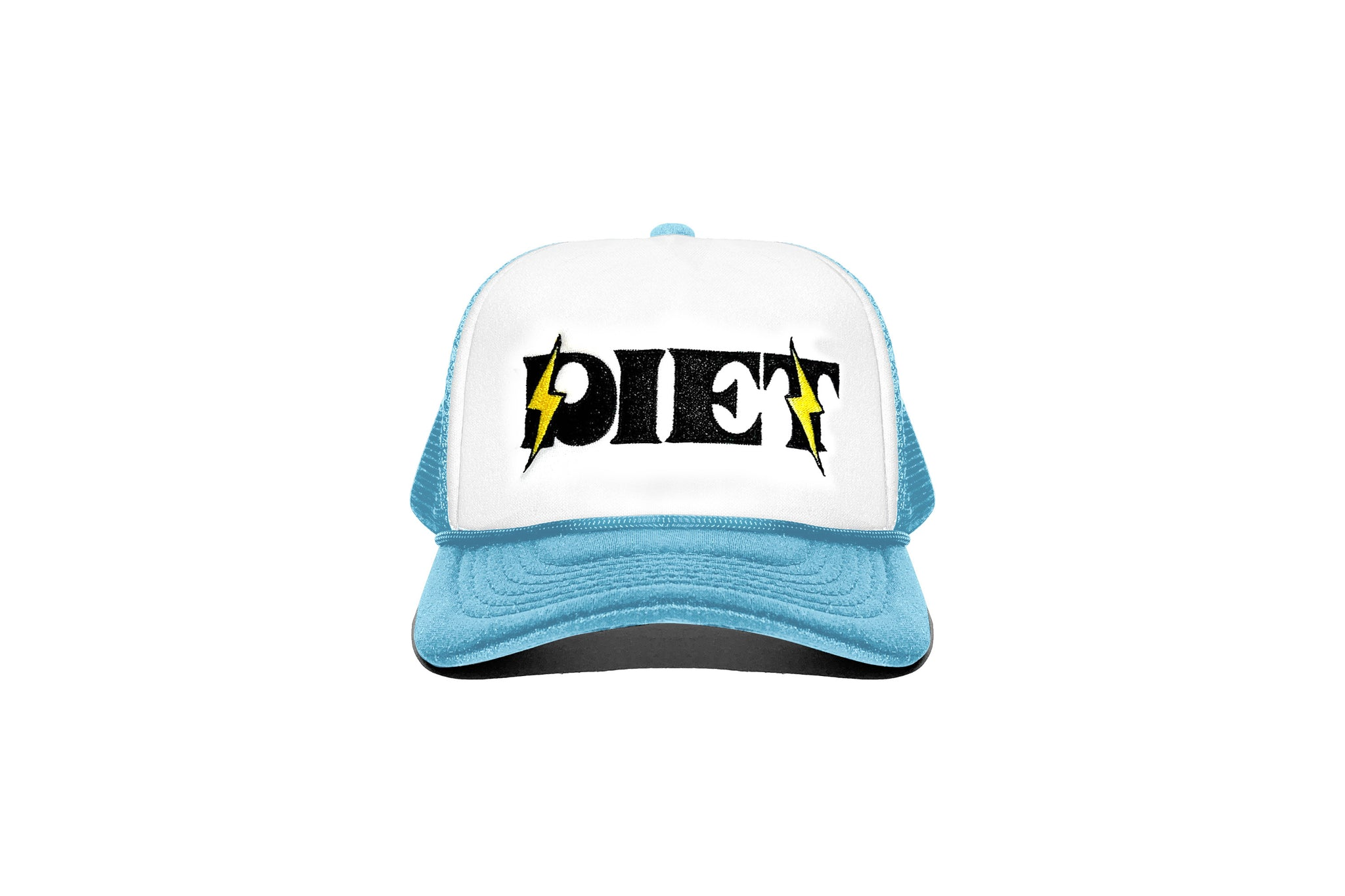 Bolt Trucker Hat - Baby Blue