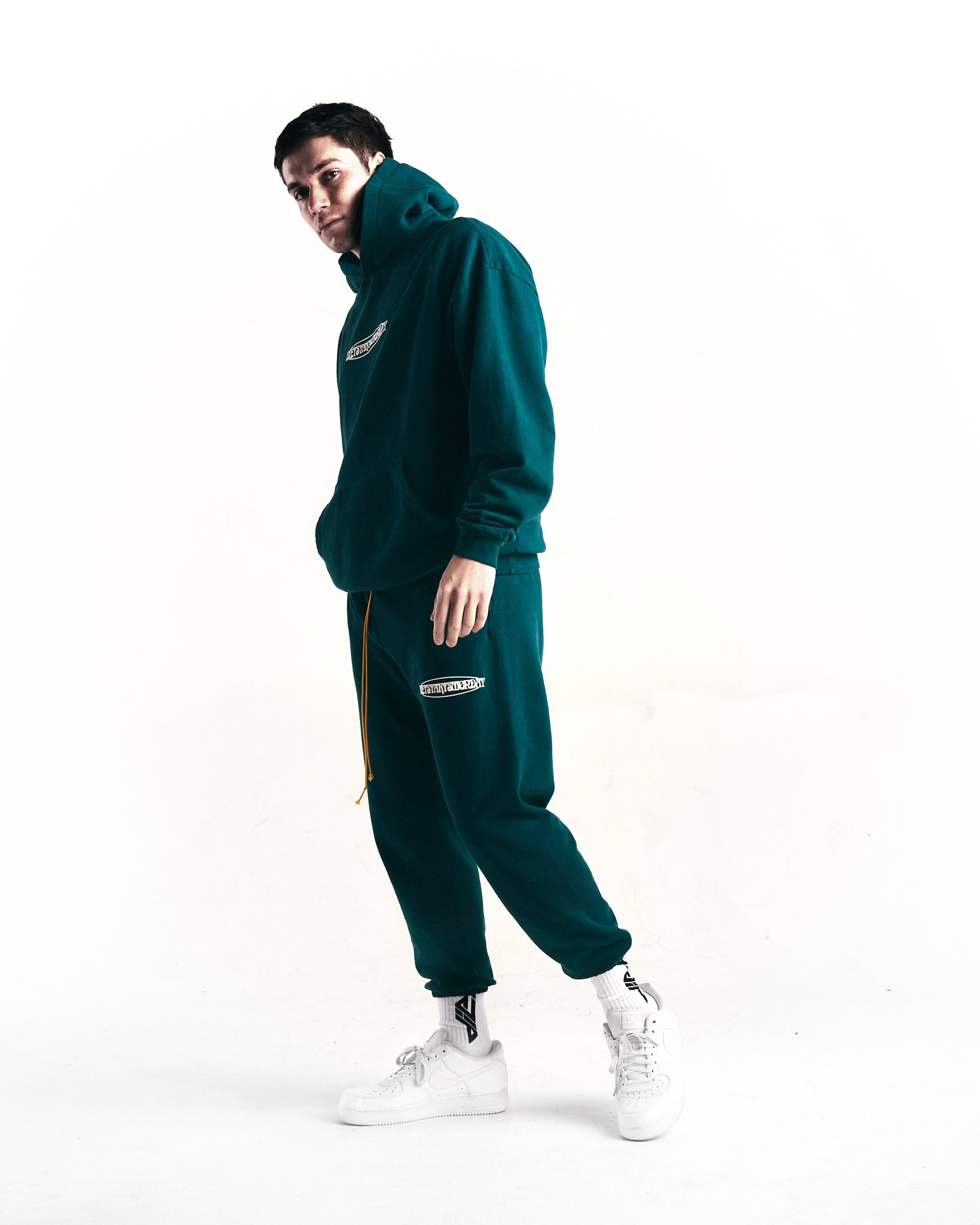 Oval Sweatpants (Pine Green)