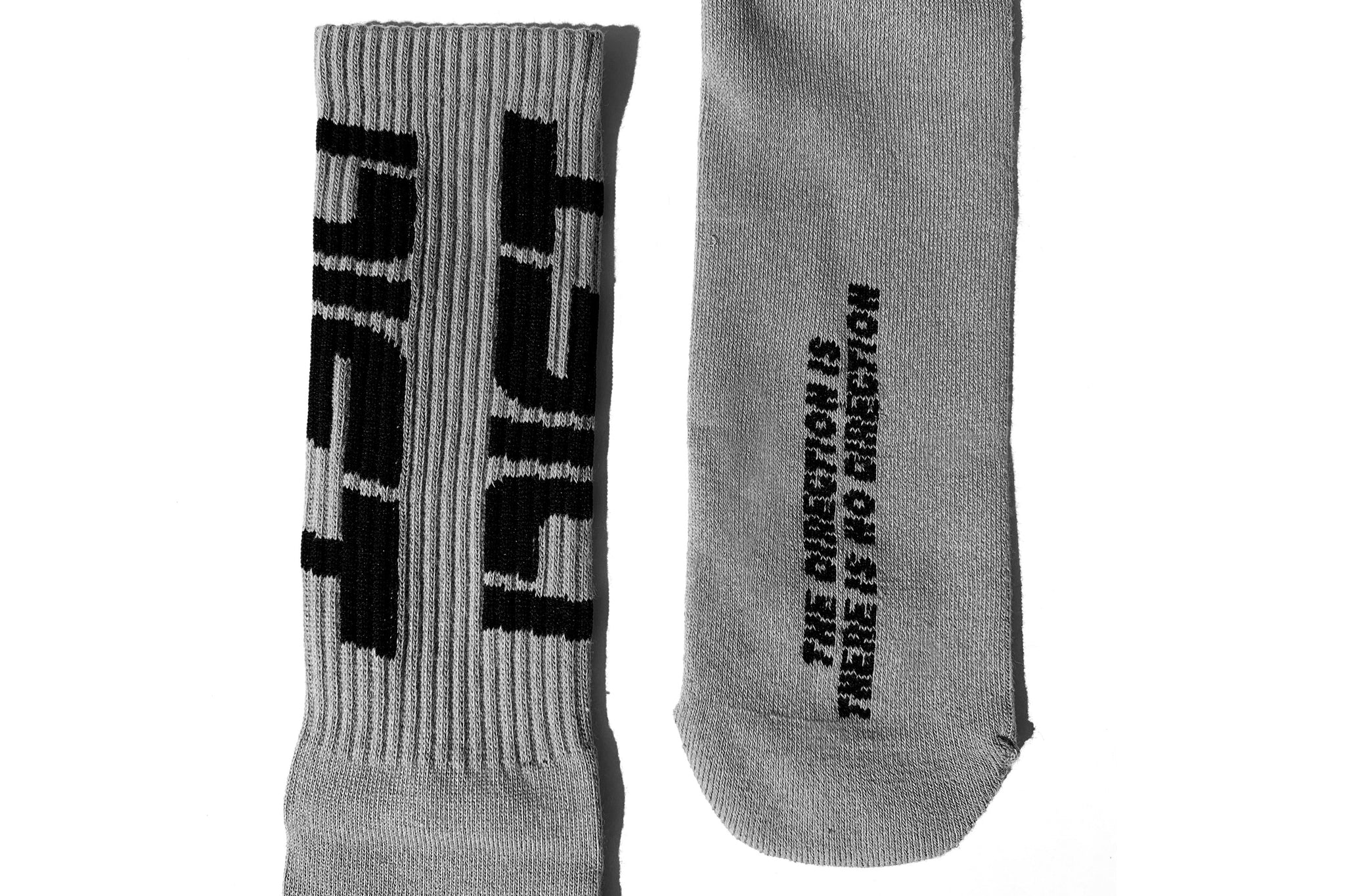 Diet Socks - Grey