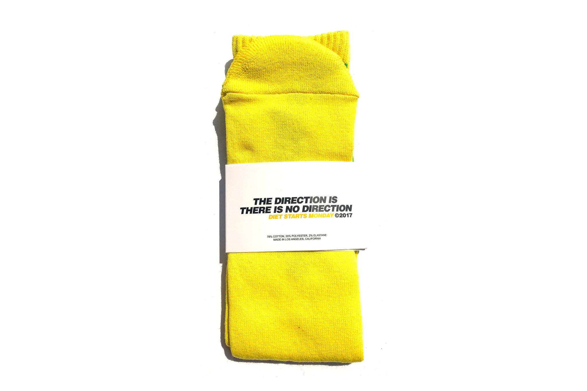Diet Socks - Yellow