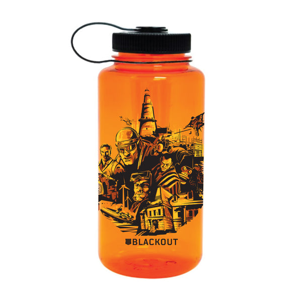 Blackout Nalgene Bottle