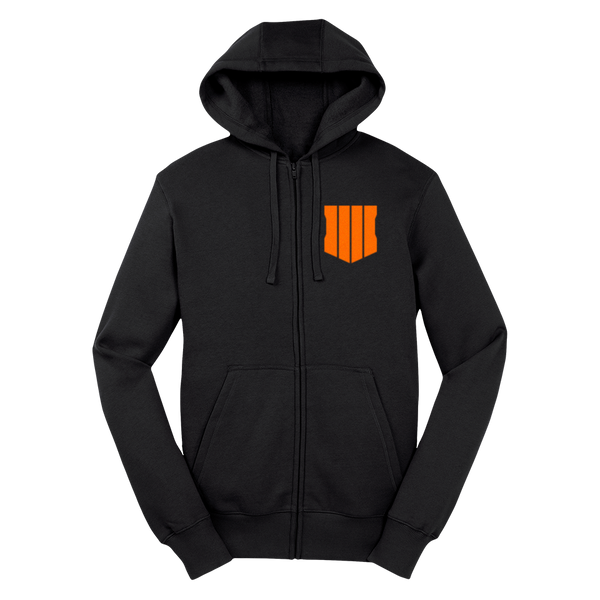 Black Ops Hooded Zip Up
