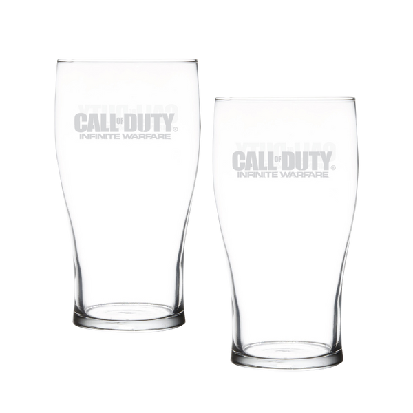 Infinite Warfare Pub Glasses