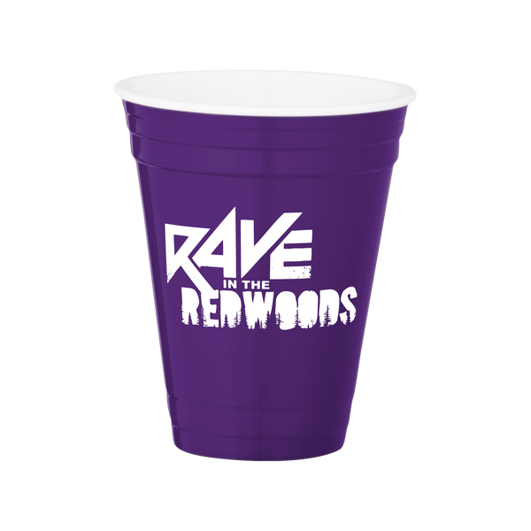 Rave in the Redwoods Game Day Cup