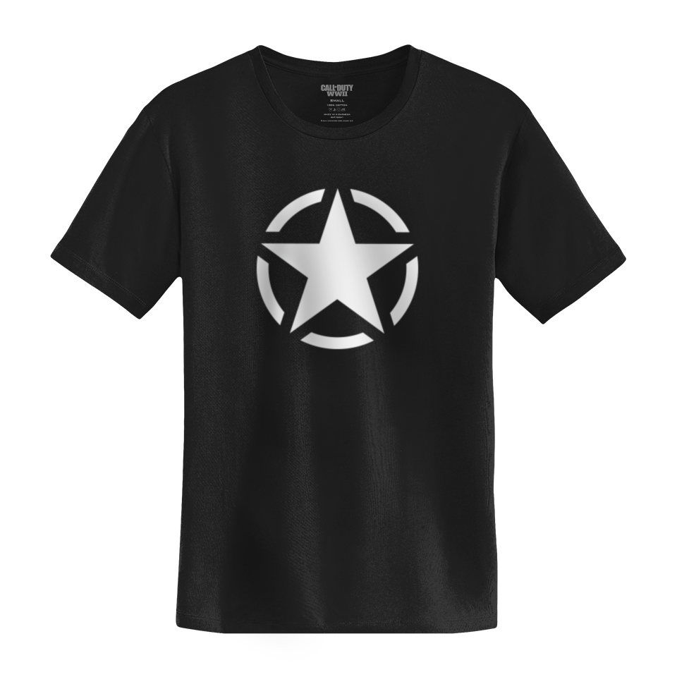 Call Of Duty Wwii Star Shirt Call Of Duty Official Online Store
