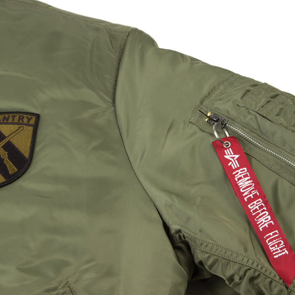 WWII Limited Edition Alpha Industries MA-1 Flight Jacket