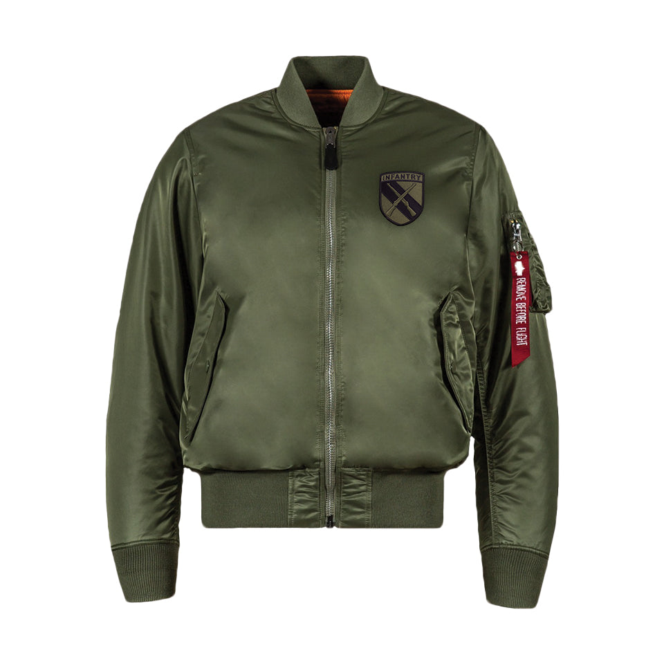 WWII Limited Edition Alpha Industries MA-1 Flight Jacket  0625a412c31