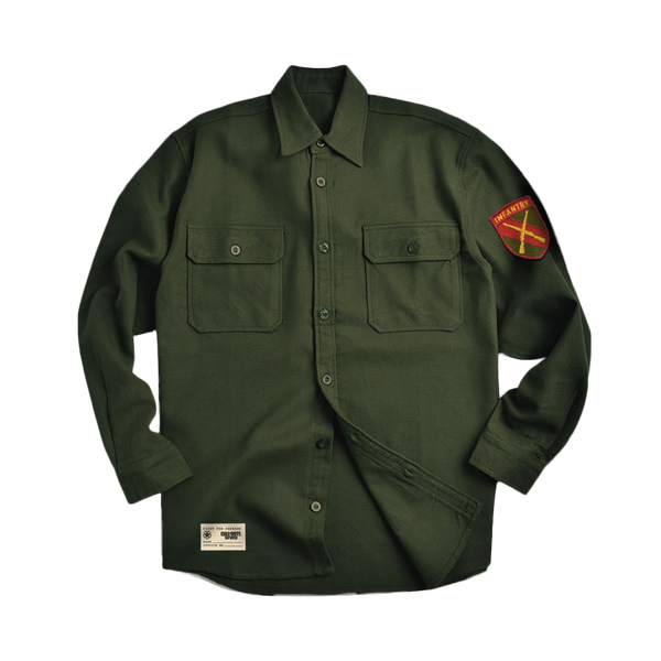 WWII Infantry Heavy Duty Flannel