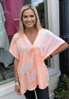 Peachy Adrienne Top