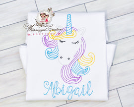 Vintage Stitches Unicorn Outfit