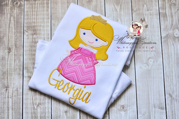 Sleeping Beauty Princess Shirt Whitesuggar Creations