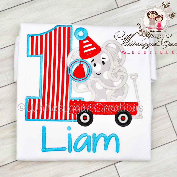 Circus Birthday Shirt Whitesuggar Creations Boutique