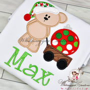 Santa Bear Christmas Shirt Whitesuggar Creations Boutique