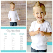 Baby Boy Summer T-Shirt Whitesuggar Creations Boutique