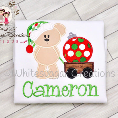 Santa Bear Christmas Shirt