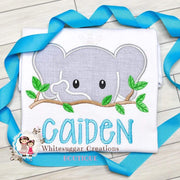 Elephant T-Shirt for Boys - Zoo Personalized Outfit Whitesuggar Creations Boutique