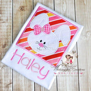 Easter Bunny Framed Face Whitesuggar Creations