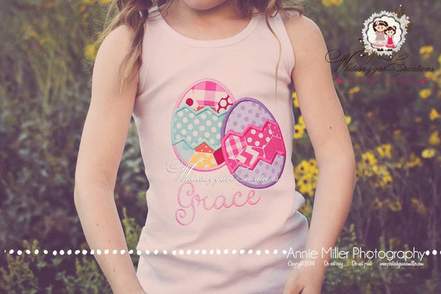 Easter Eggs-tra Cute Shirt Whitesuggar Creations
