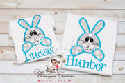Easter Bunny Face Shirt for Boys Whitesuggar Creations