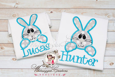 Easter Bunny Face Shirt for Boys