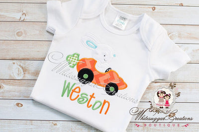 Bunny Carrot Car Shirt