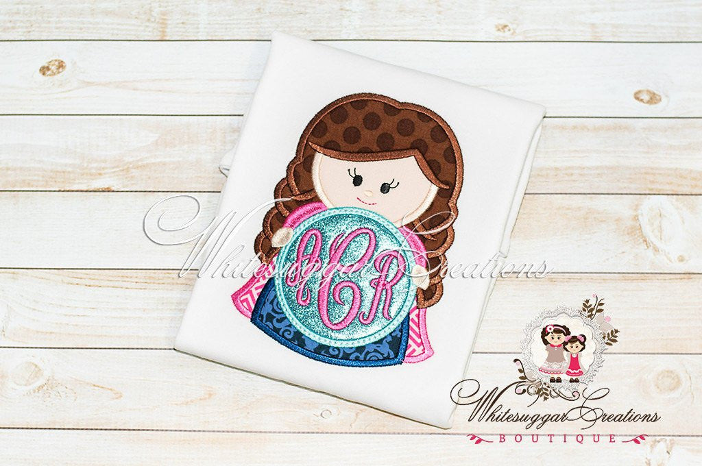 Ice Princess Shirt - Whitesuggar Creations Boutique