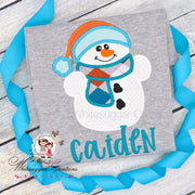 Snowman Christmas Shirt Whitesuggar Creations Boutique
