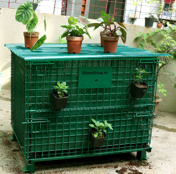 Community Composting Aaditi - stonesoup.in