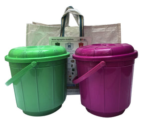 Waste Segregation Kit - 2bin1bag( set of 5) - Stonesoup Shop