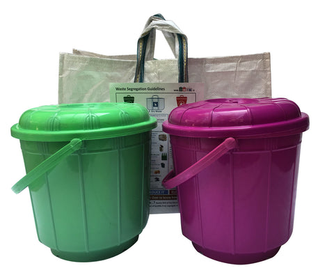 Waste Segregation Kit - 2bin1bag
