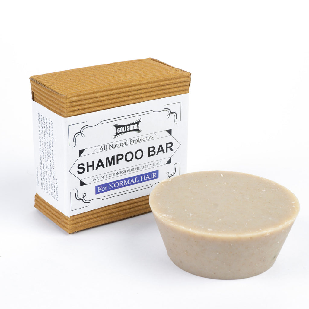 Goli Soda - Probiotics Shampoo Bar For Normal Hair 90 gm - Stonesoup Shop