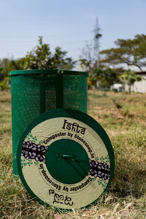 LEAF COMPOSTER / OUTDOOR COMPOSTER : ISHTA