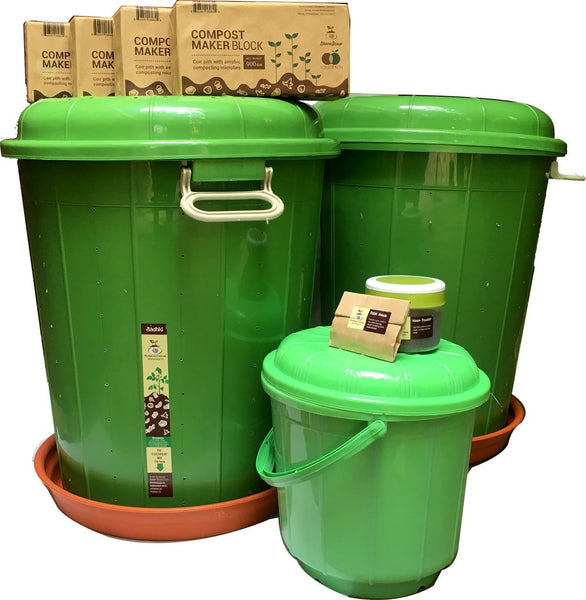 Home Composting Twin Kit - Badhki - Stonesoup Shop