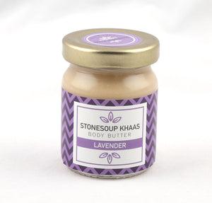 Stonesoup Khaas Body Butter - Lavender (50ml) - Stonesoup Shop