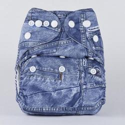 Bumberry Pocket Diaper (Denim Design) - Stonesoup Shop