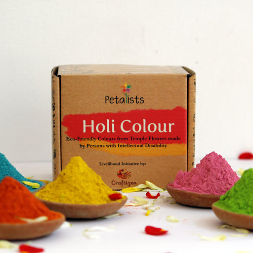 Natural Holi Colours: 5-colour combo