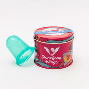 Teal/Blue Cup (Medium) - Stonesoup Shop
