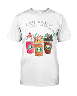 Catpuccino t-shirt  - Grr Cats