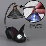 Little Black Cat Night Light lamp - Grr Cats