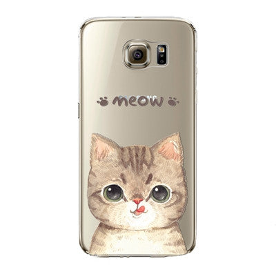 Samsung Phone Case Silicon Miam Silicon - Grr Cats