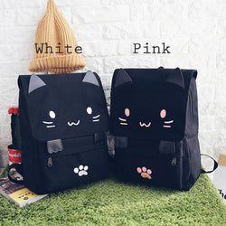 Printing Black Cat Backpack Backpack - Grr Cats