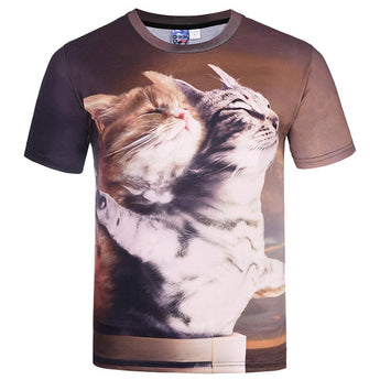 3D Titanic Cats Lovers T-shirt - Grr Cats