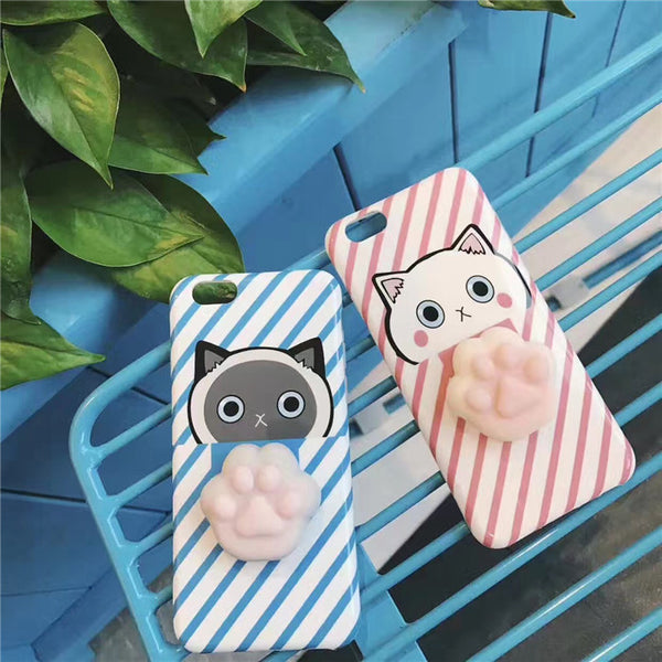 3D Paw Phone Cases Phone Cases - Grr Cats