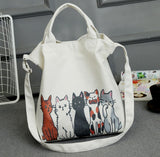 Handbag Summer Beach Bag bag - Grr Cats